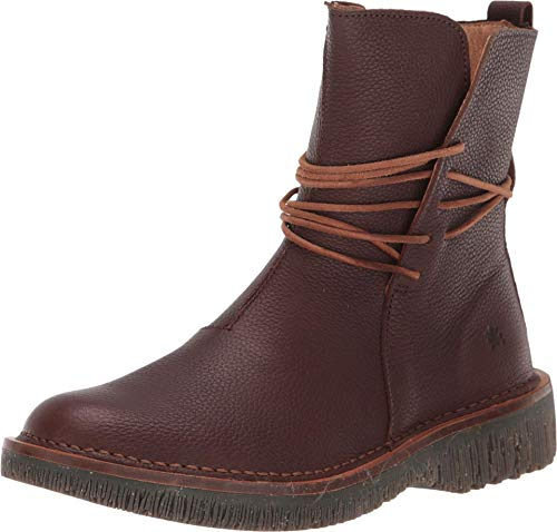El Naturalista Damen Ankle Boots Volcano, Frauen Stiefelette, weibliche Lady Ladies feminin elegant Women's Women Woman Freizeit,Brown,42 EU / 9 UK