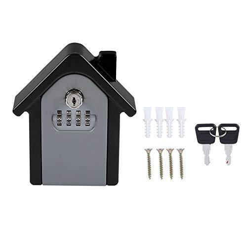 Antilog Storage Lock Box, 4 Digit Wachtwoord Wandbevestiging Sleutelbeveiliging Code Keys Houder Opslag Lock Box Case
