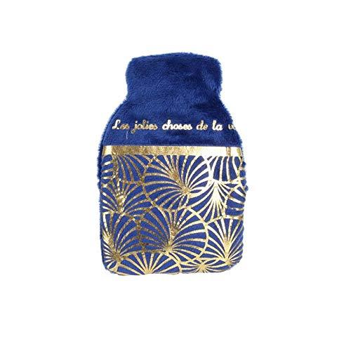 Groupe CMP Chaufferette de Poche - Couleur Bleu - 1 Face imprimée - Les Jolies Choses de la Vie