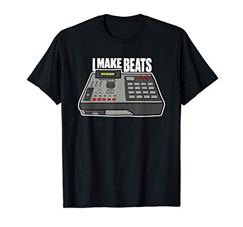 I Made Beats Beat Maker Gift for Music Producer T-Shirt