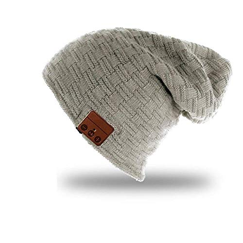 Gorro Beanie Inalámbrico Bluetooth Knitted Plus Velvet Winter Music Hat Auriculares Micrófono...