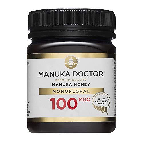 Manuka Doctor Manuka Honig 100 MGO - Original Manuka Honig aus Neuseeland mit Methylglyoxal - 250 g