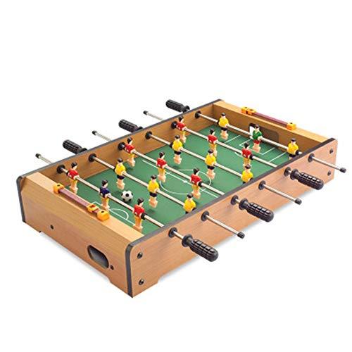 Sport Tischspiele Kreativer Beweglicher Holz Mini Tischfußball Foosball Fußball-Wettbewerb Indoor Raum Sport Set Mini Eltern-Kind-Spiel Fußball-Tabelle (Color : One Color, Size : 18.9''*11''*3.3'')