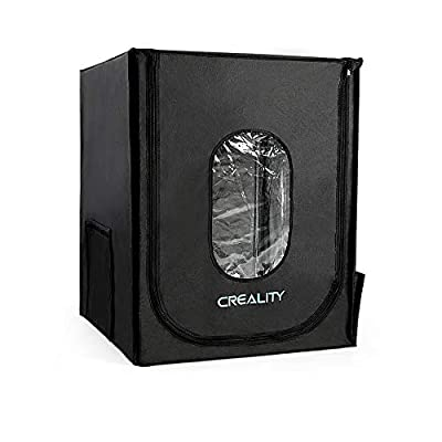 3D Printer Enclosure, Creality Fireproof and Dustproof 3D Printer Enclosure Constant Temperature Protective Cover Room for Ender5/5 pro/5 Plus,CR-10/10S/10S PRO/10MINI,CR-X/CR-20/20PRO- Large