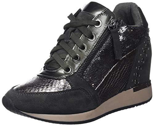 XTI 48262, Zapatillas Altas para Mujer, Gris (Grey), 36 EU