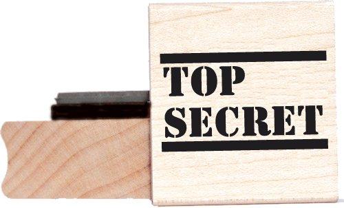Top Secret rubber stamp - BR002E