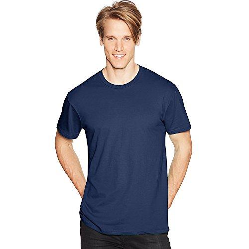 Hanes 4,5oz. 100% Hilado y algodón Nano-T Camiseta