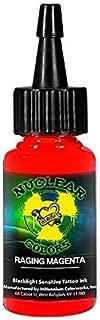 Moms Nuclear UV Tattoo Ink Raging Magenta Ultra Violet 1oz by Millennium Mom's