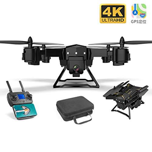 GPS Onbemande Vliegtuigen, UAV's 4K HD 5G WIFI FPV UAV Luchtfoto Drones Dubbelvouwen 4K High-Definition Intelligente Positionering Thuis Quadcopter,2