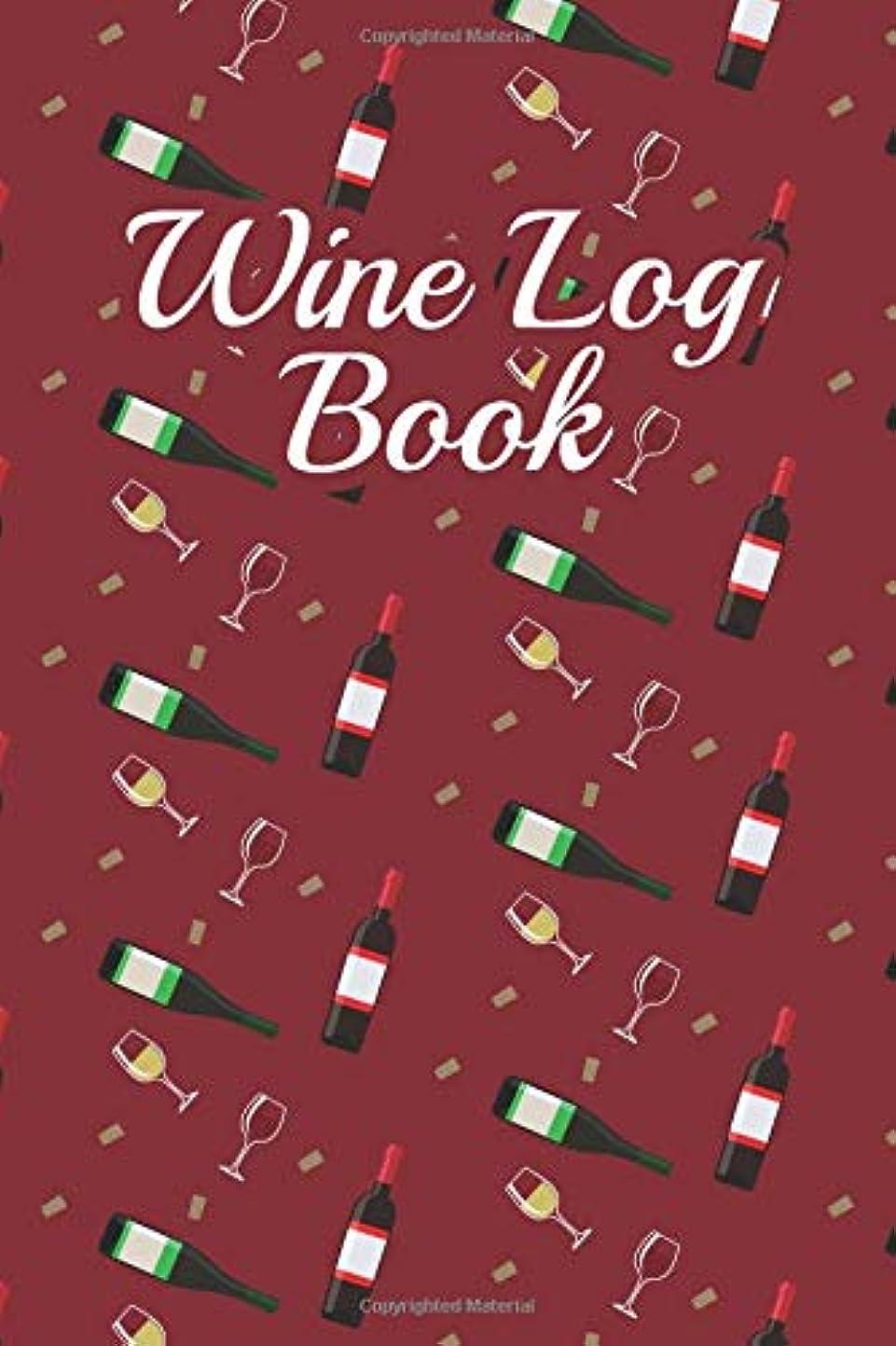 ジャンプする財産些細なWine Log Book: Wine Tasting & Collection Log Book (V3)