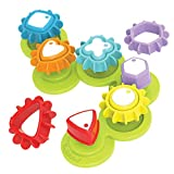 Yookidoo Shape N Spin Gear Sorter. A Developmental Activity Toy for Kids Ages 1-3. Toddlers Sortering Game with Multiple Colors and Shapes, That Also Spins. (Closed Box)