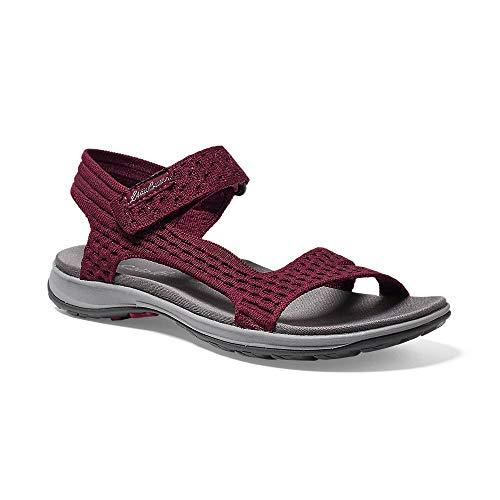 Eddie Bauer Women's Flexion Sandal, Dk Berry Regular 10M