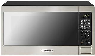 Daewoo KOR-16YM Horno de Microondas, 1.6 P, color, Plata, pack of/paquete de 1