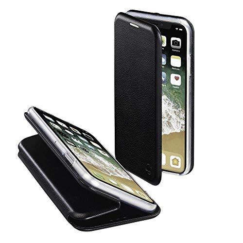 Preisvergleich Produktbild Hama Curve Handytasche Folio schwarz - Handyhüllen (Folie,  Apple,  iPhone XS,  schwarz)
