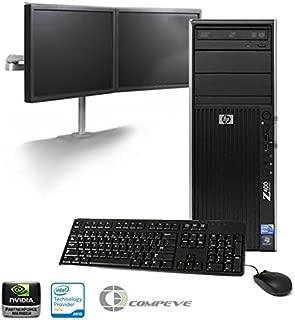 HP Z400 Workstation/ Desktop VS872U8#ABA Intel Intel W3503 2.40GHz/ 6GB RAM/ 500GB HDD/ Win7