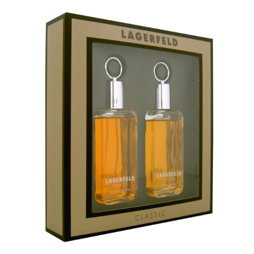 Karl opslagveld Giftset EDT spray 60 ml en aftershave 60 ml, per stuk verpakt (1 x 120 ml)