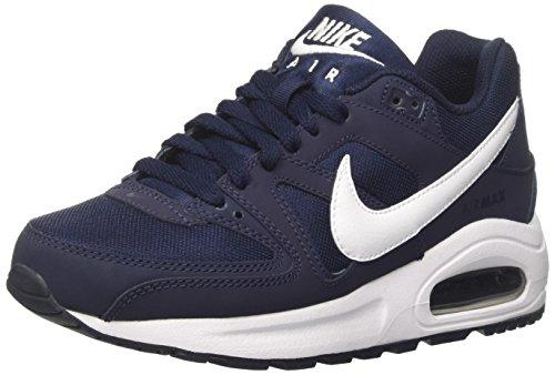 Nike Air Max Command Flex (Gs), Sneaker a Collo Basso Unisex-Bambini, Blu (Obsidian Blau/weiß-schwarz), 38 EU