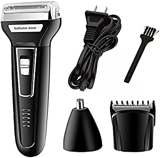 Kemei Reciprocating double-head Multifunctional 3In1 Electric Shaver Hair Trimmer