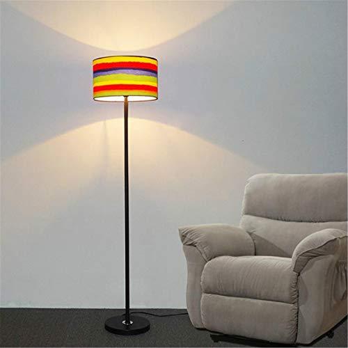ZDAMN Lámpara de Piso Lámpara Moderna de la lámpara de pie de la lámpara de pie para la Sala de Estar de la Sala de la Sala de la lámpara del Piso de la Tela Decoracion Lámpara de pie para Salón
