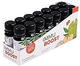 ImmuBoost ® Shot | 14 Shots | 1 Tag 1 Shot | 2 Wochen tägliche Unterstützung für das Immunsystem durch Vitamin C und Zink | Mit Ingwer, Acerola und...