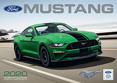 Ford Mustang 2020: 16-Month Calendar - September 2019 through December 2020 (Calendars 2020)
