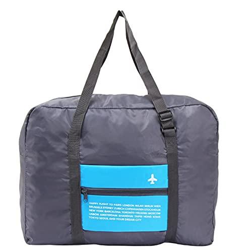 Taoyun Bolsa de almacenamiento de viaje portátil plegable de gran capacidad bolsa de equipaje impermeable para viajar viaje de negocios