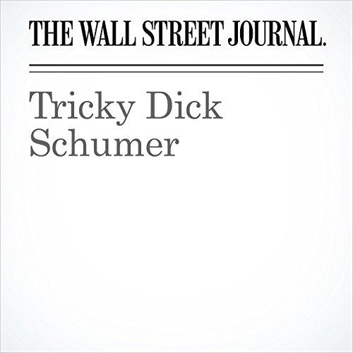 Tricky Dick Schumer copertina