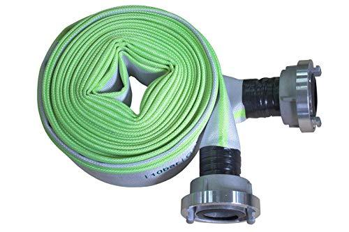 Bauschlauch Industrieschlauch Flachschlauch Wasserschlauch mit D-25 Storz Kupplungen 1