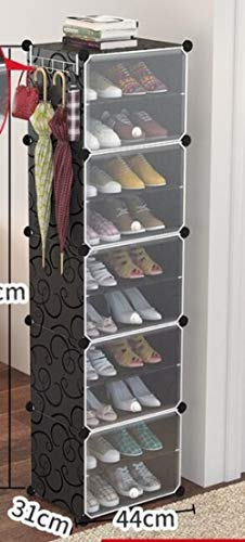 LKU Schoenrek Kunststof afneembare schoenenkast schoenenrek gang slaapkamer schoenenrek opbergrek montage schoenenrek