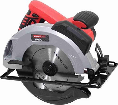 Mader Power Tools 63297 cirkelzaag met laser 1400 W 185 mm-63297