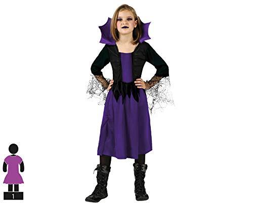 Atosa 98859 Disfraz mujer araña 5-6 años, talla niña