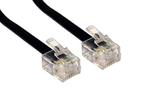 C63 reg; RJ11 - Cavo per modem ADSL DSL a banda larga, con collegamento Sky e presa telefonica inglese