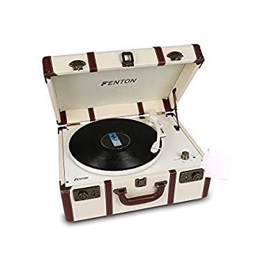 Fenton RP145 Record Player with Vinyl Cleaning Cloth