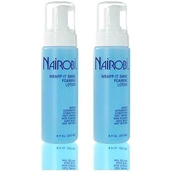 "Nairobi Wrapp-It Shine Foaming Lotion 8 fl. oz. (237 ml)""Pack of 2"""
