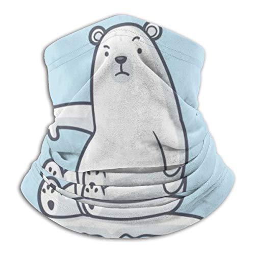Polar Bear Global Warming Is Not Cool – Tour de cou en polaire coupe-vent – Pour homme et femme