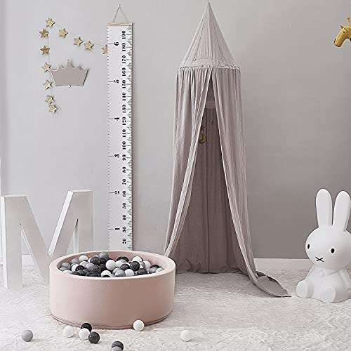 Children Bed Canopy Round Dome, Nursery Decorations, Cotton Mosquito Net,...