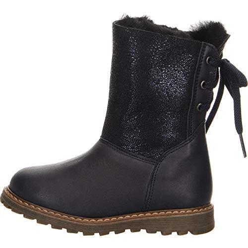 clic! Shoes Mädchen klassischer Stiefel blau Gr. 28