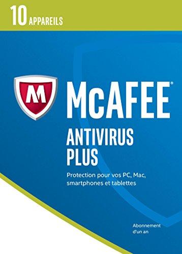 McAfee AntiVirus Plus 2017 - 10 appareils [Code Jeu ]