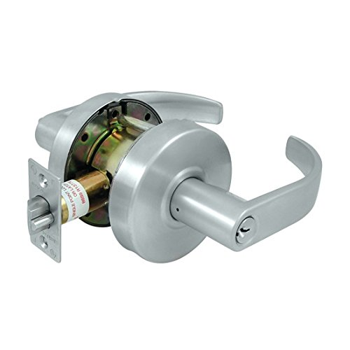 Schlage Commercial CL604EVC-26D Commercial Store Room Standard GR2 Curved Door Lock with Cylinder