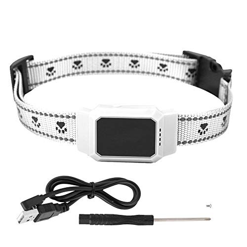 Redxiao Mini-Haustier-GPS-Gerät, wasserdichter Anti-Diebstahl-Global-Echtzeit-Tracking-Kragen-Sicherheitsfinder-Ortungsgerät für Aktivitätsmonitor-Tracking-Geräte für Hunde und Katzen(#1)