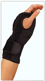 Mueller Sports Medicine Night Support Wrist Brace, Black, Size Measure Around Wrist 5.75 - 9 Inches (Pack of 3)