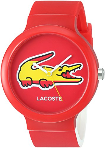 Lacoste 2020071 Watch Goa Unisex – Red Dial