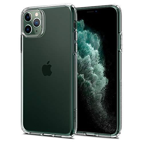 Spigen Liquid Crystal Compatibel met iPhone 11 Pro hoesje, Transparant TPU siliconen gsm-hoesje beschermhoes Flex cover case Crystal Clear