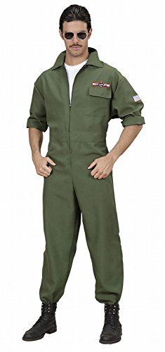 WIDMANN - Disfraz para Hombre piloto, Talla M (89022)