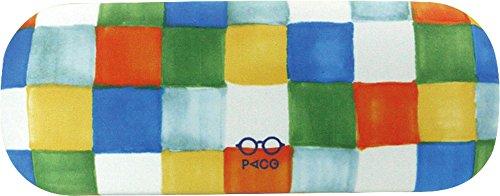 現代百貨 PACO メガネ ケース ボックスチェック A291BO 086403