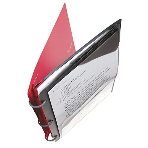 Five Star Flex Hybrid NoteBinder, 1 Inch Binder, Notebook and Binder All-in-One, Blue (72011) - 2 Pack Photo #3