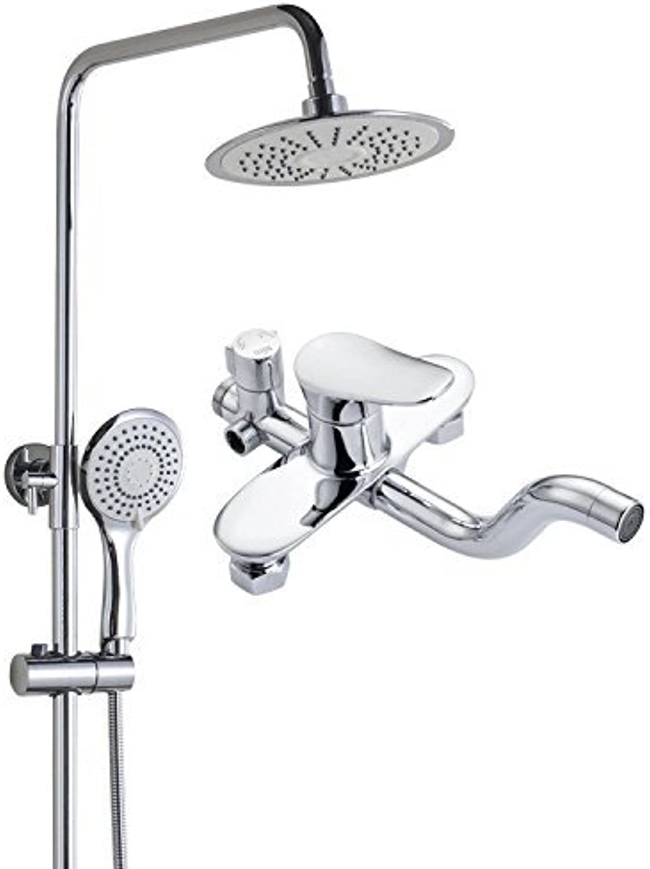 HSDDA Bathroom Rainfall Third copper bath shower shower nozzle booster brass Showerhead