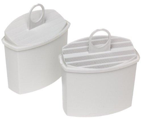 Braun AromaSelect pureaqua KWF 2 Wasserfilter | Verbessert den Kaffeegeschmack | Wasserfilter für alle Braun AromaSelect und AromaPassion Kaffeemaschinen | 2 Stück | weiß