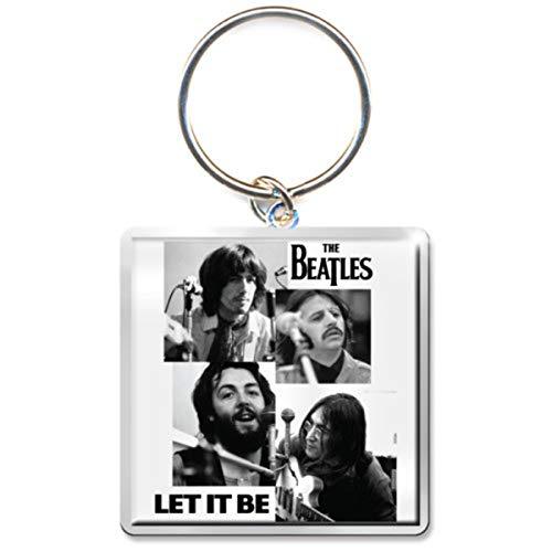 The Beatles Let It Be John Lennon Ringo Starr llavero con licencia