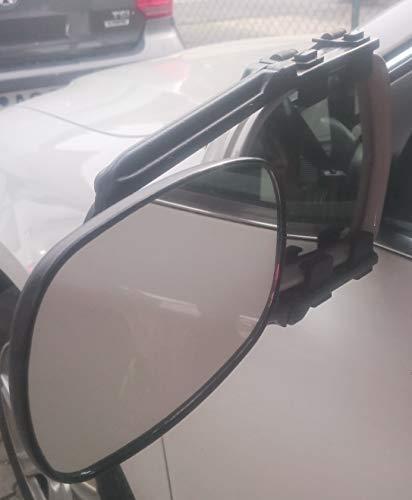 Wehmann Caravanspiegel XL Wohnwagenspiegel 2 Stück STVZO zugelassen mit E-Nummer, auch für große Spiegel geeignet z.B. SUV, Geländewagen usw.